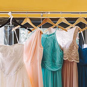 アパレル商品の洋服の撮影